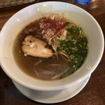 中華バルSAISAI。 - 白ネギ塩麺