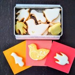 ルスルス - 鳥のかたちクッキー