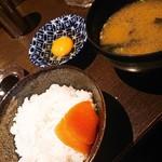 のどぐろ家 姫川 - 卵かけご飯