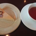 FLORE CAFĒ  - チーズケーキ&アールグレイ