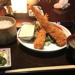 佐賀昇 - 大海老フライ定食