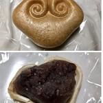 小ざさ - ◆最中(小豆餡のみ):ばら売り10個(780円だったような) *1個口にしたのですが、皮はサクッとした食感。 *小豆餡は甘さ控えめ。