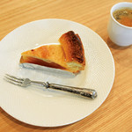ロング テーブル - 【ケーキセット】アップルパイ
