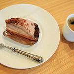 ロング テーブル - 【ケーキセット】チョコケーキ