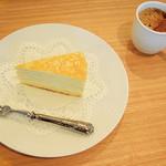ロング テーブル - 【ケーキセット】ミルクレープ