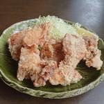 華のれん - 料理写真:塩唐揚げ