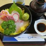113124113 - 三種丼 1,550円