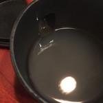 土風炉 - 蕎麦湯