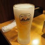 黒毛和牛 焼肉処 西矢 - 生ビール