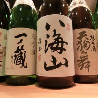純米酒中心に品揃えしてます!