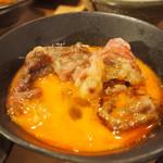 黒毛和牛 焼肉処 西矢 - 焼きしゃぶすき焼き