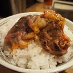 黒毛和牛 焼肉処 西矢 - 焼きしゃぶすき焼き オンザライス