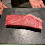 炭火焼きステーキ灰屋 - 特選和牛サーロイン