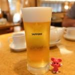 113137496 - 生ビール ¥375(一杯目半額)