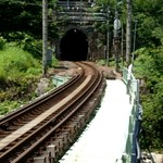 113137969 - 雪国のモデルのトンネル