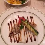 youshokukicchinshato- - ハタのポワレとサラダ