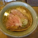 梅花亭 - 料理写真:魚出汁 潮らーめん 大盛