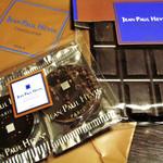 ジャン=ポール・エヴァン カーヴ・ア・ショコラ - タブレット (エクアトゥル)・プティパレ ノワール/ノワール カフェ。