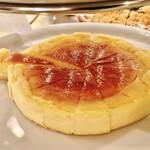 アンソレイエ - チーズケーキ@正統派もじゅんわりとしていて美味