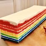 アンソレイエ - レインボーケーキ