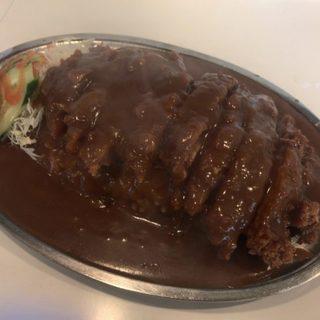 ドライブイン一平 - 料理写真:「カツカレー」920円
