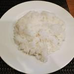 グリル末松 - ビーフカツランチのライス