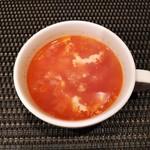 グリル末松 - ビーフカツランチのスープ