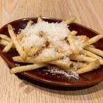 ピコティ ピコタ - ブーケサラダ(1,500円 +税)ポテトフライ・スープ付きのポテトフライ