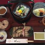もみぢ家別館 川の庵 - 料理写真:最初の御膳です