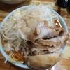 ラーメン二郎 - 料理写真:小ラーメン+豚増し+辛い奴※ニンニク、アブラ