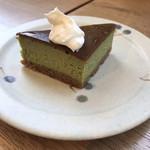 113164108 - 抹茶のチーズケーキ