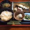 魚と創菜 いしまつ - 料理写真:ランチの おまかせ焼き魚定食@870円 これは沖目鯛の塩焼き♪小鉢はシラスおろし