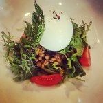 ニケ ワイン&グリル - レンズ豆のサラダ