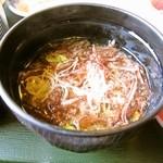 おお田 - 海藻の味噌汁