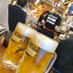 磯丸水産 - 生ビール¥280(外税)