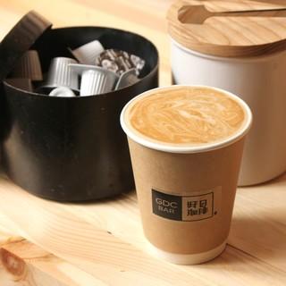 砂糖なし!甘み感じるカフェラテ