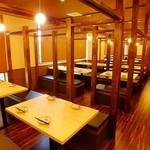 和個室×肉バル MIYABI - 内観写真: