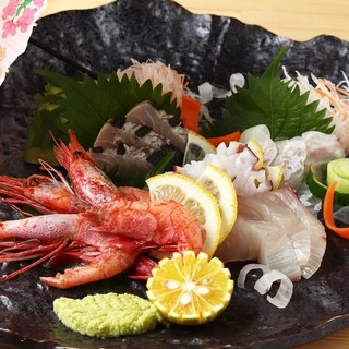 新鮮な魚介類がオススメ