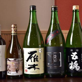 ワイン・日本酒・焼酎