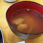 玄海鮨 - 貝汁  付いてますよ。