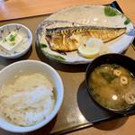 やよい軒 - 料理写真:サバの塩焼き定食
