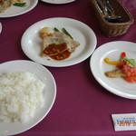 アンソレイラ - 料理写真:本日のランチ 1,000円