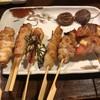 土間人 - 料理写真:串物七店盛り