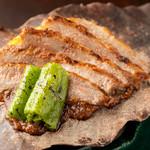 つきはし - 和牛の朴葉焼き
