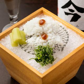 その時期最も美味しい、旬の「魚介」や「野菜」を使ったお料理