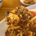 中国料理 菜格 - シビ強めな麻婆豆腐