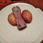 山映 - 薩摩揚ぷりぷり 黒毛和牛ローストビーフ