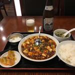 Tonkou - 敦煌麻婆豆腐(重慶風)800円(税別)