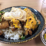 たけふく - 料理写真:ボリューム満点:カツ丼