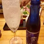113197741 - 飲み放題のスパークリング日本酒